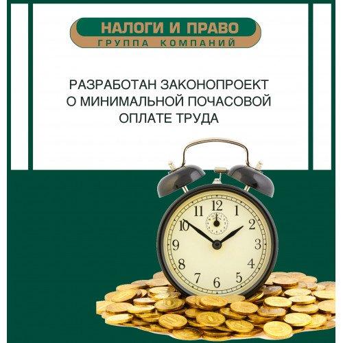 Разработан законопроект о минимальной почасовой оплате труда.